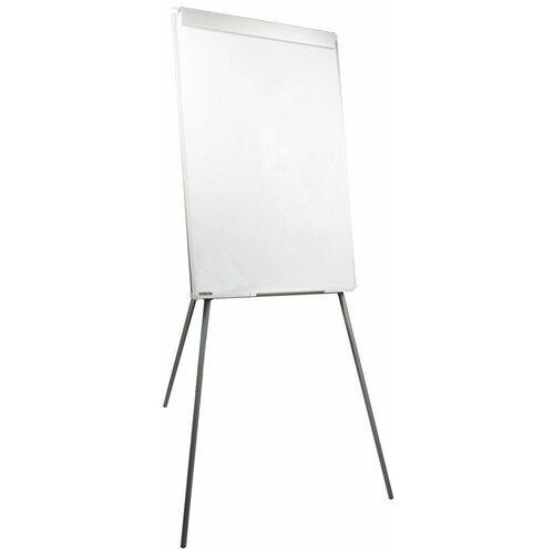 Доска-флипчарт магнитно-маркерная BRAUBERG 235526 100х70 см, белый/хром