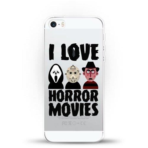 Силиконовый чехол Фильмы Ужасов на Apple iPhone 5/iPhone 5S/iPhone SE