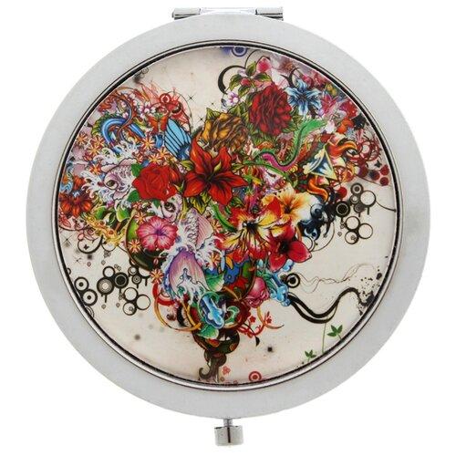 Купить Карманное зеркальце TINA BOLOTINA Яркие Цветы