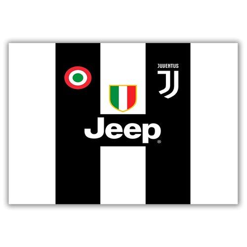 Магнит на холодильник большой - A4, ЧМ по футболу 2018, форма - Роналдо, Ювентус (Ronaldo, Juventus)