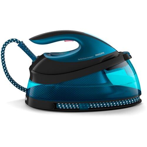 Фото - Парогенератор Philips GC7846/80 PerfectCare Compact синий парогенератор philips gc7808 40