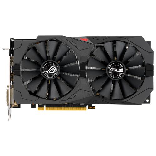 Видеокарта ASUS ROG Strix Radeon RX570 8GB (ROG-STRIX-RX570-8G-GAMING) Retail