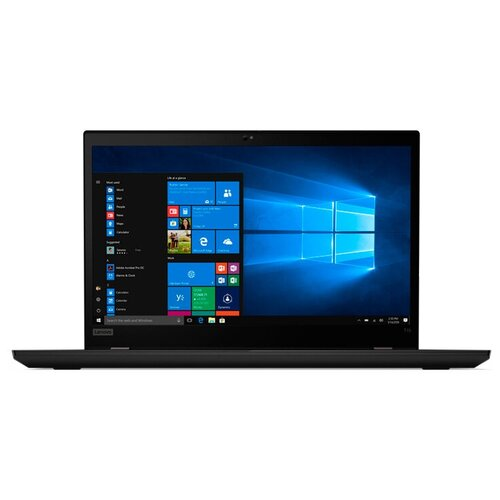 "Ноутбук Lenovo ThinkPad T15 Gen 1 (Intel Core i7 10510U 1800MHz/15.6""/1920x1080/16GB/512GB SSD/Intel UHD Graphics/Windows 10 Pro) 20S60021RT black"