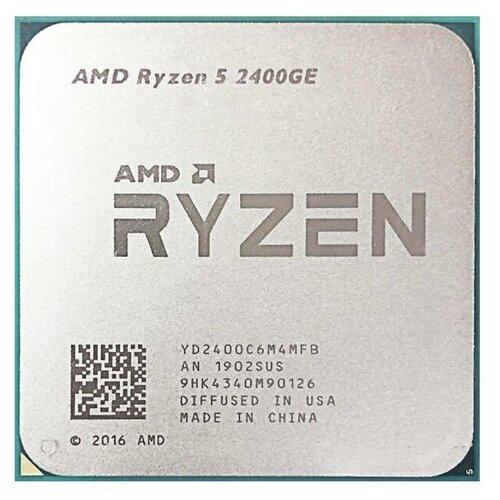 Фото - Процессор AMD Ryzen 5 2400GE, OEM процессор amd ryzen 5 3600x socketam4 oem [100 000000022]