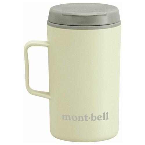 Термокружка MontBell Termo Mug MB Logo, 0.33 л белый