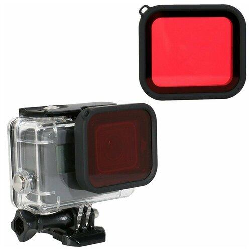 Фото - Telesin Подводный фильтр на аквабокс для GoPro HERO8 крышка для объектива telesin для gopro hero8 черный