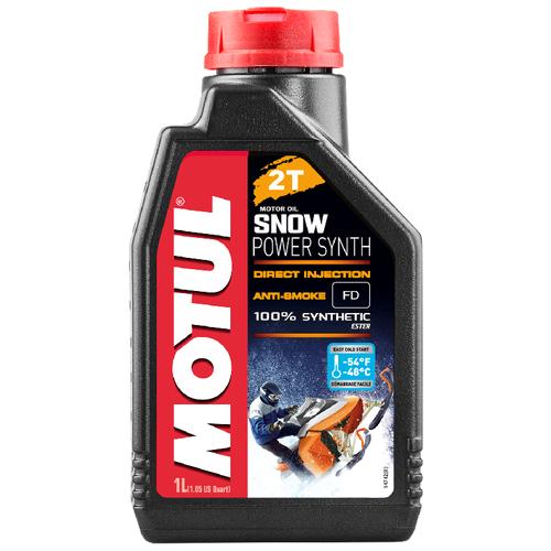 Синтетическое моторное масло Motul Snowpower Synth 2T, 1 л