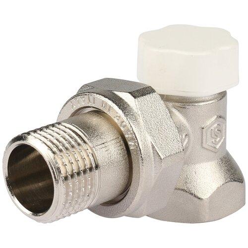 Запорный клапан STOUT SVL 1156 муфтовый (ВР/НР), латунь, для радиаторов Ду 15 (1/2