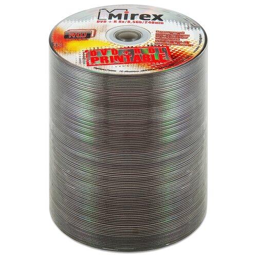 Фото - Диск DVD+R DL 8.5Gb Mirex 8x Double Layer Printable bulk, упаковка 100 штук диск bd r 50gb cmc 6x full printable bulk упаковка 10 штук