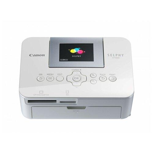 Фото - Принтер Canon Selphy CP1000, белый компактный фотопринтер canon selphy 1300 черный [2234c002]