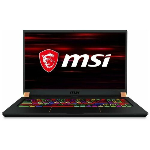 Ноутбук MSI GS75 Stealth 10SE-466RU (9S7-17G321-466), черный ноутбук msi stealth 15m a11sdk 032ru 9s7 156211 032
