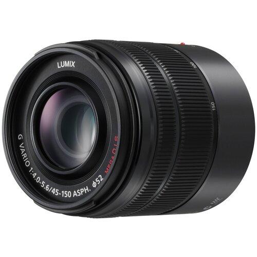 Фото - Объектив Panasonic 45-150mm f/4-5.6 O.I.S. Mega Lumix G Vario (H-FS45150) черный объектив panasonic lumix h hs043e k 42 5mm f 1 7 g aspherical power o i s h hs043e черный