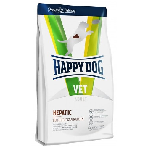 Сухой корм для собак Happy Dog VET, при заболеваниях печени 4 кг