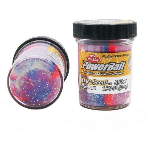 Форелевая паста Berkley - STBG-CA (1004951) Extra Scent Glitter цвет красный/белый/синий