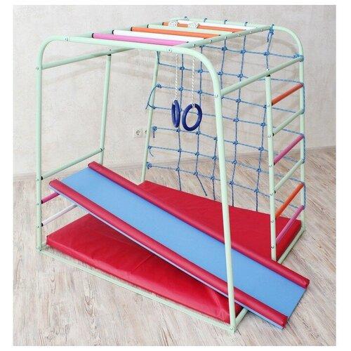 Детский спортивный комплекс Cube, цвет фисташка 3954491