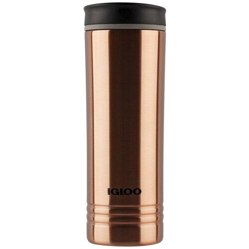 Термокружка Igloo Copper, 0.591 л коричневый