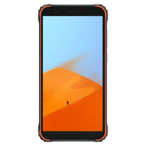Смартфон Blackview BV4900, черный/оранжевый смартфон blackview bv4900 черный оранжевый
