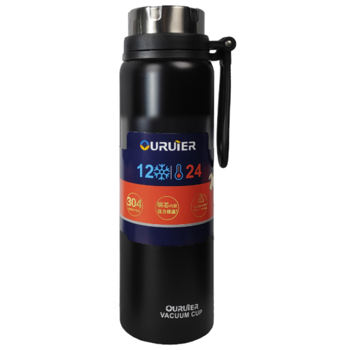 Классический термос Campinger 2392-B-016, 1 л черный