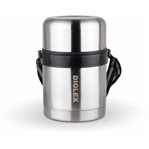 Термос для еды Diolex DXF-600-1, 0.6 л стальной