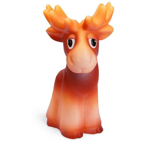 Фото - Игрушка для ванной ОГОНЁК Лось (С-921) оранжевый игрушка для ванной огонёк лев бонифаций с 644 оранжевый