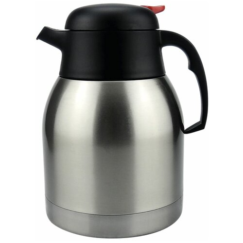Термокувшин ROSENBERG RSS-420106, 1.2 л серебристый/черный