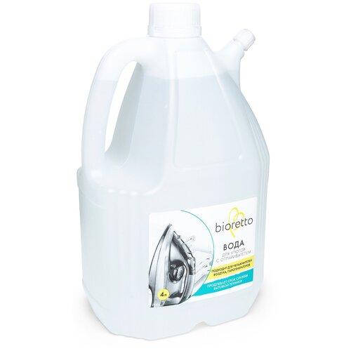 Средство для облегчения глажения Bioretto Вода для утюгов с отпаривателем 4 л