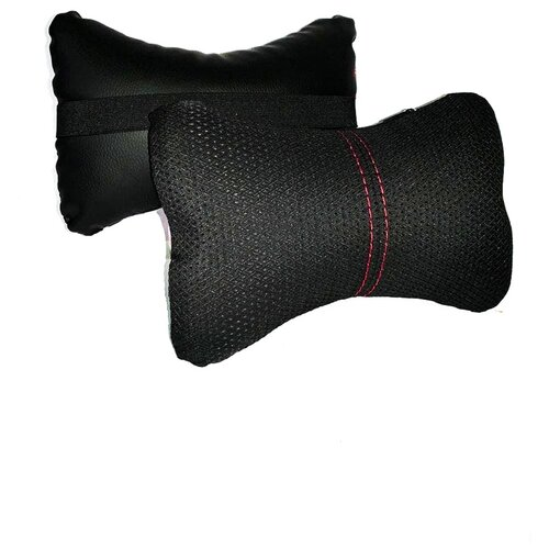 Комплект автомобильных подушек под шею (ЖК41332, 2 штуки)