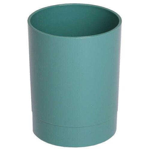 Купить Подставка-стакан Стамм Офис. Voyage. NY , пластик, круглый, зеленый, цена за штуку, 279744, СТАММ, Канцелярские наборы
