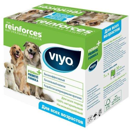 Напиток-пребиотик Viyo Reinforces Dog для всех возрастов 7 шт. в уп.