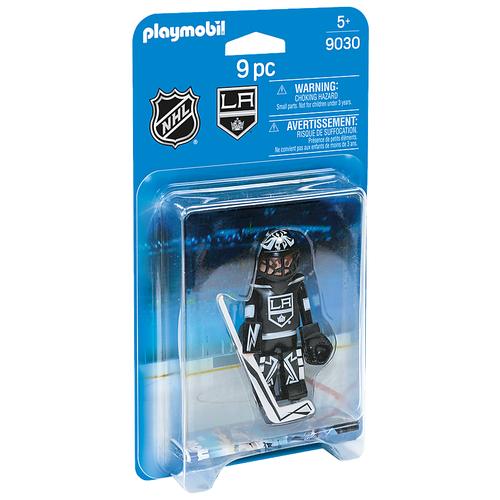 Набор с элементами конструктора Playmobil NHL 9030 Вратарь Los Angeles Kings