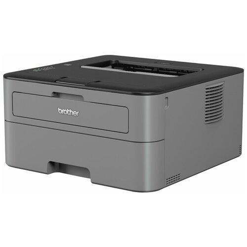 Принтер Brother HL-L2300DR, серый