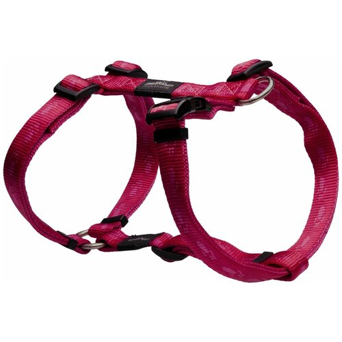 Шлейка Rogz Alpinist M (SJ23) розовый