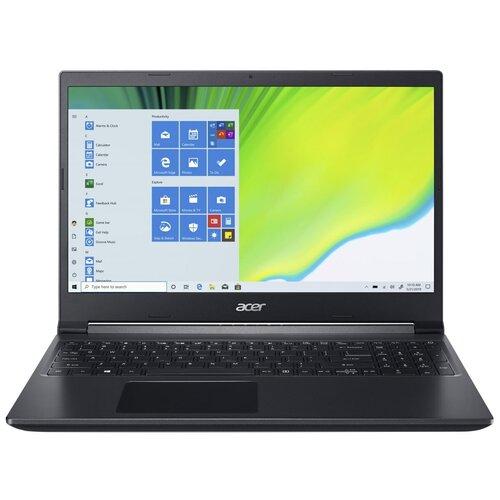 "Ноутбук Acer Aspire 7 A715-75G-70FK (Intel Core i7 9750H 2600MHz/15.6""/1920x1080/8GB/1024GB SSD/NVIDIA GeForce GTX 1650 Ti 4GB/Windows 10 Home) NH.Q88ER.00H черный"