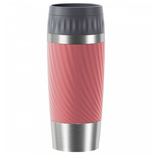 Фото - Термокружка EMSA Travel Mug Easy Twist, 0.36 л красный термокружка emsa travel mug grande 0 5 л красный