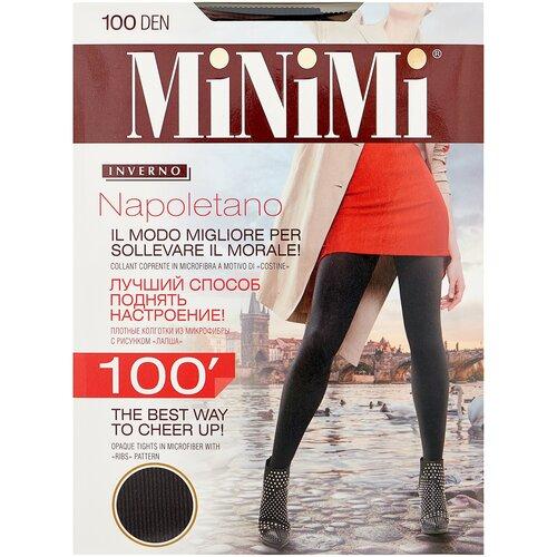 Колготки MiNiMi Napoletano, 100 den, размер 3-M, nero (черный)