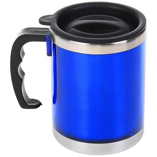 Термокружка TUNDRA Таллер, 0.45 л синий