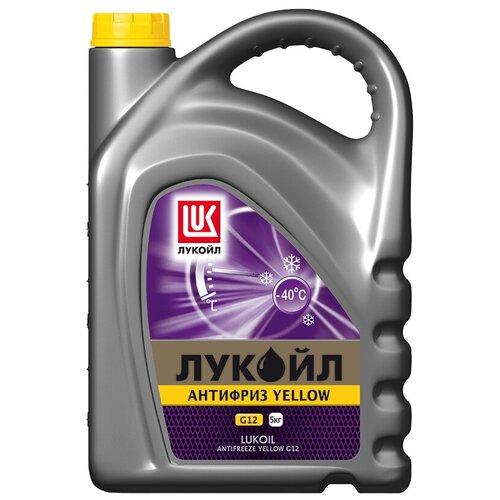 Антифриз ЛУКОЙЛ Yellow G12 5 кг