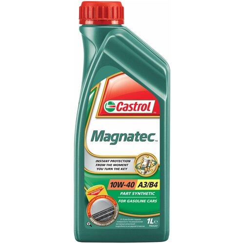 Фото - Полусинтетическое моторное масло Castrol Magnatec 10W-40 R, 1 л полусинтетическое моторное масло castrol vecton 10w 40 7 л