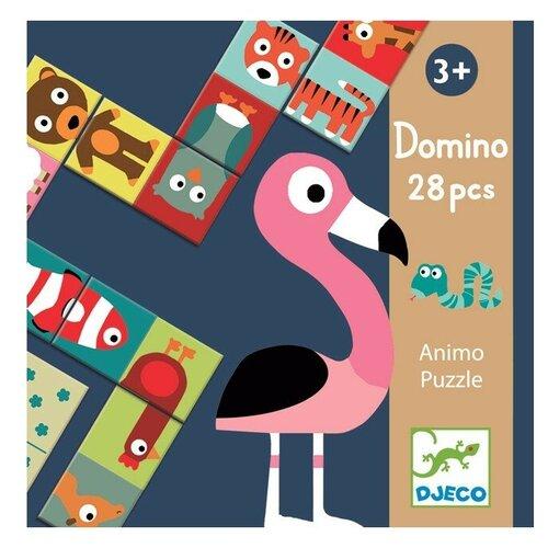 Настольная игра DJECO Домино Животные