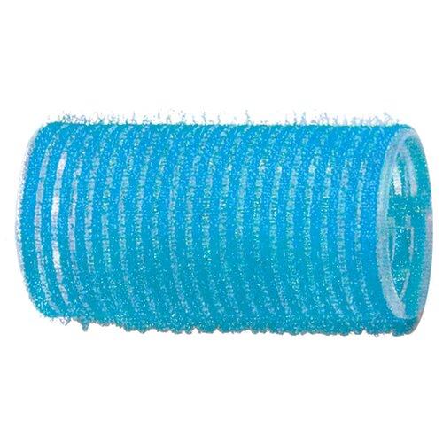 Бигуди-липучки DEWAL, голубые d 28 мм 12 шт/уп DEWAL MR-R-VTR6  - Купить