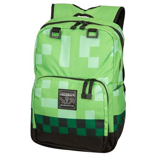 Jinx Рюкзак Minecraft Creeper Scatter Backpack, зеленый