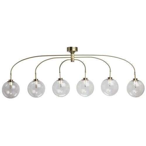 Люстра светодиодная De Markt Крайс 657011606, LED, 30 Вт люстра de markt 657011606 6 5w led