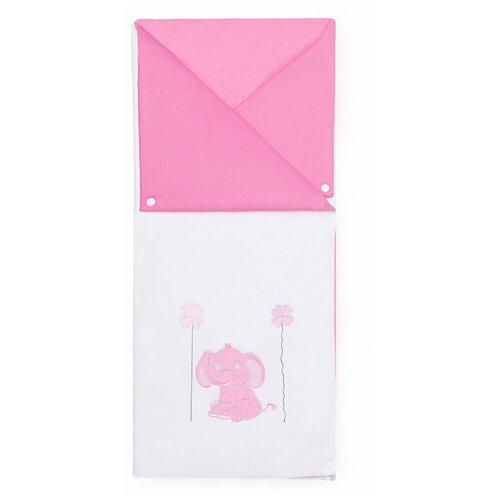 Купить Конверт-трансформер Elephants (Pink), Kidboo, Конверты и спальные мешки