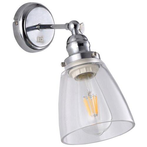Фото - Бра Arte Lamp Trento A9387AP-1CC, с выключателем, 40 Вт бра arte lamp serenata a3479ap 1cc с выключателем 40 вт