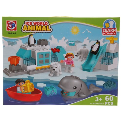 Конструктор Kids home toys Ice World Animal 188-81 конструктор kids home toys happy farm 188 133