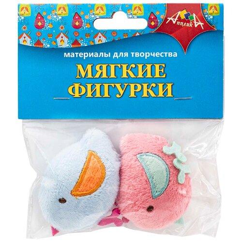 Купить Набор мягких игрушек Апплика Птички, 5 см, Мягкие игрушки