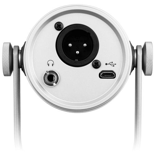 Микрофон SHURE Универсальный XLRUSB микрофон, цвет серебристый
