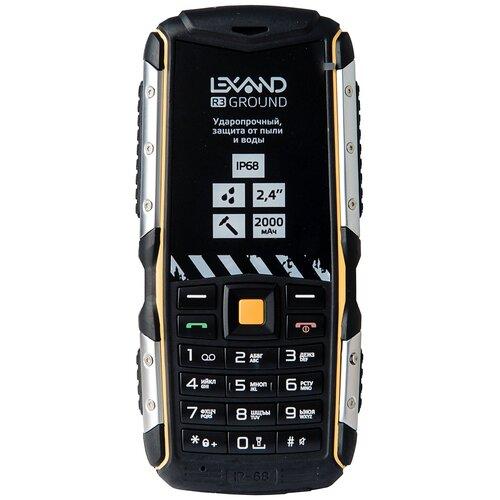 Фото - Телефон LEXAND R3 Ground, черный lexand lr75