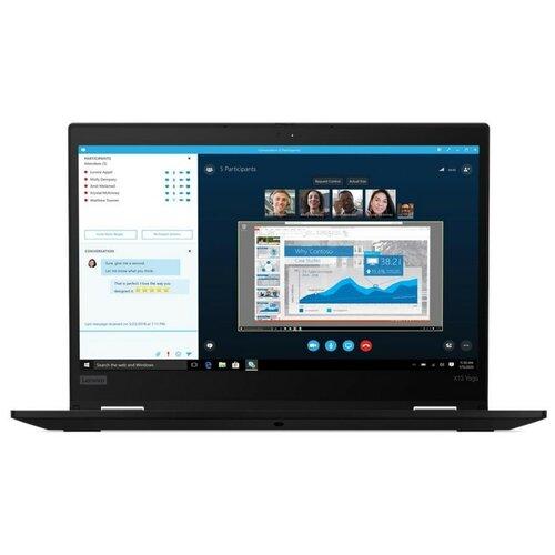 "Ноутбук Lenovo ThinkPad X13 Yoga Gen 1 (/13.3""/1920x1080/Intel UHD Graphics/Windows 10 Pro) (/13.3""/1920x1080/Intel UHD Graphics/Windows 10 Pro) (/13.3""/1920x1080/Intel UHD Graphics/Windows 10 Pro) (Intel Core i7 10510U 1800MHz/13.3""/1920x1080/16GB/512GB SSD/Intel UHD Graphics/Windows 10 Pro) 20SX001DRT black"