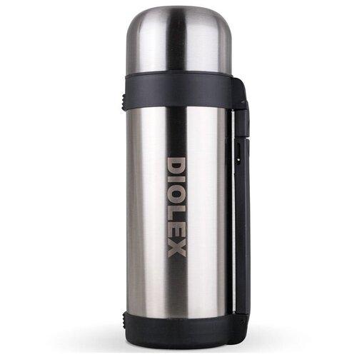 Классический термос Diolex DXH-1800-1, 1.8 л серебристый